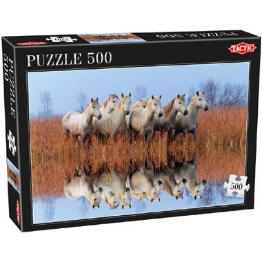 Tactic puzzel paarden - 500 stukjes
