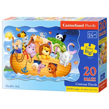 Castorland puzzel de Ark van Noach maxi - 20 stukjes