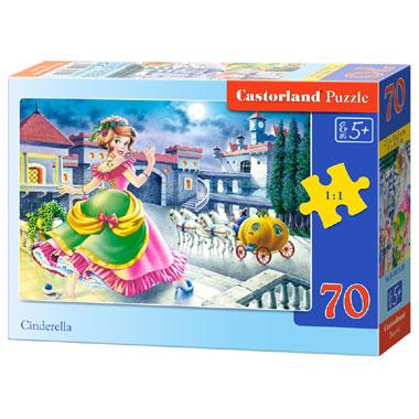 Castorland puzzel Assepoester - 70 stukjes