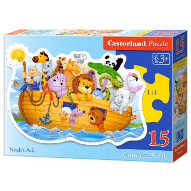 Castorland puzzel de Ark van Noach - 15 stukjes