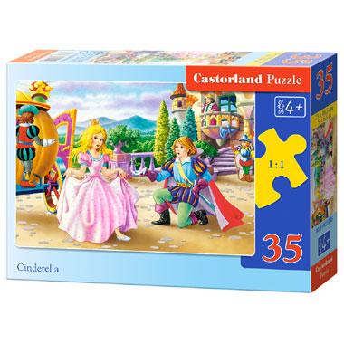 Castorland puzzel Assepoester - 35 stukjes