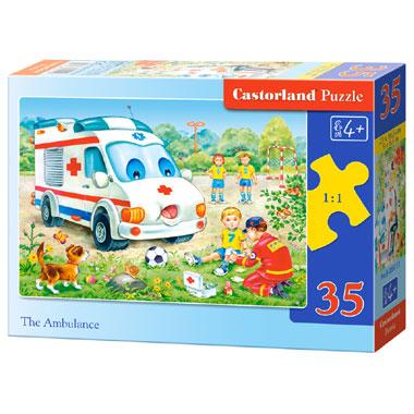 Castorland puzzel dierentuin - 35 stukjes