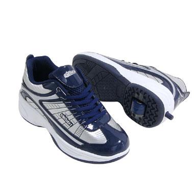 Clickers skateschoen - maat 32/33 - blauw