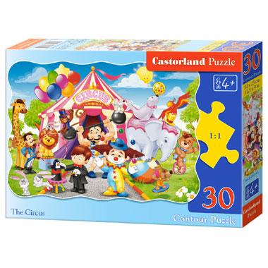 Castorland puzzel het circus - 30 stukjes