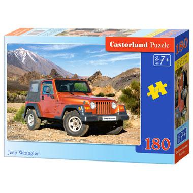 Castorland Jeep Wrangler puzzel - 180 stukjes