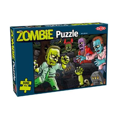 Tactic zombie puzzel - 100 stukjes