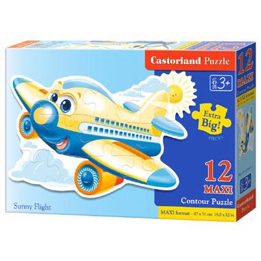 Castorland puzzel zonnige vlucht maxi - 12 stukjes