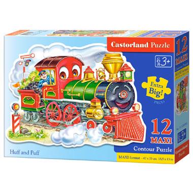 Castorland puzzel Huff and Puff maxi - 12 stukjes