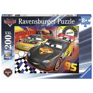 Ravensburger puzzel Disney Cars Op het parcours - 200 stukjes