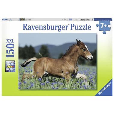 Ravensburger XXL-puzzel veulen in de weide - 150 stukjes