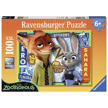 Ravensburger Disney Zootropolis XXL-puzzel - 100 stukjes