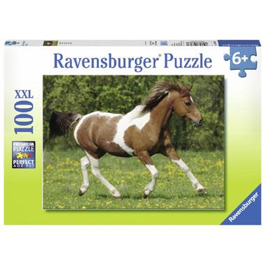 Ravensburger XXL-puzzel In galop - 100 stukjes