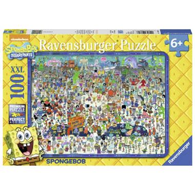Ravensburger SpongeBob Squarepants XXL-puzzel - 100 stukjes