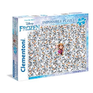 Clementoni impossible puzzel Disney Frozen - 1000 stukjes