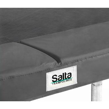 Salta beschermrand voor trampoline rechthoekig - 153 x 213 cm - zwart