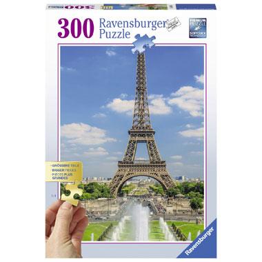 Ravensburger puzzel uitzicht op de Eiffeltoren - 300 stukjes