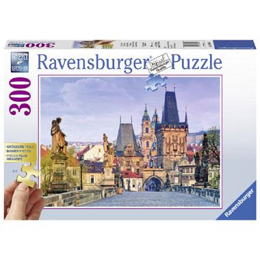 Ravensburger puzzel mooi Praag - 300 stukjes