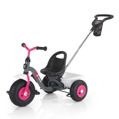 Kettler Toptrike Air Girl driewieler - grijs/roze/wit