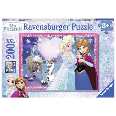 Ravensburger Disney Frozen XXL-puzzel zusterliefde - 200 stukjes