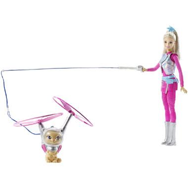 Barbie Star Light Avontuur galastische Barbie met vliegende kat