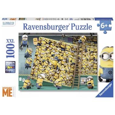Ravensburger Verschrikkelijke Ikke puzzel XXL - 100 stukjes