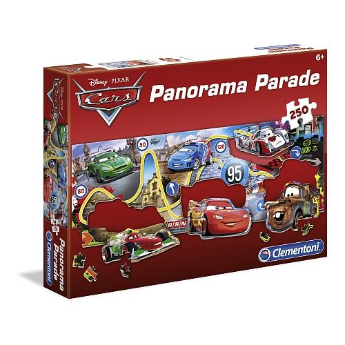 Disney cars - vormpuzzel: 250 delen