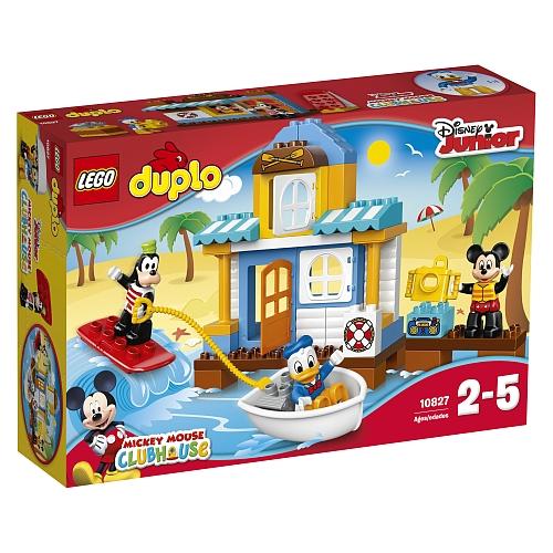 Lego duplo - 10827 disney mickey & friends: micky's strandhuis