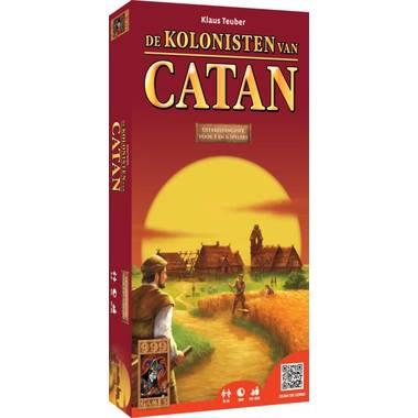 De Kolonisten van Catan met 5 of 6 spelers