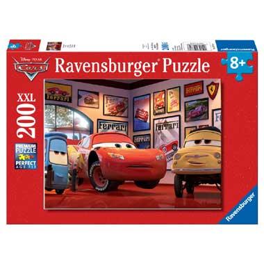 Ravensburger XXL puzzel Cars Bliksem McQueen 200 stukjes