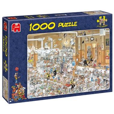 Jumbo puzzel Jan van Haasteren de keuken 1000 stukjes