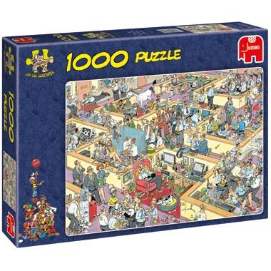 Jumbo puzzel Jan van Haasteren het kantoor 1000 stukjes