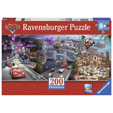 Ravensburger panorama puzzel Disney Cars 200 stukjes