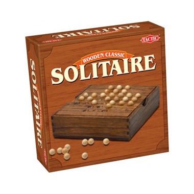 Solitaire in houten box