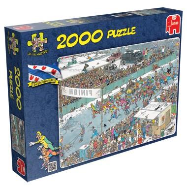 Jumbo Jan van Haasteren puzzel Elfstedentocht puzzel 2000 stukjes