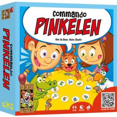Commando pinkelen kinderspel