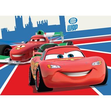 Tapijt Disney Cars Bliksem & Francesco