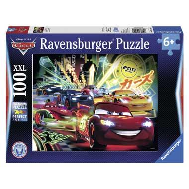 Ravensburger puzzel Cars neon 100 XXL
