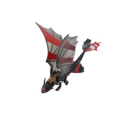 Dragonspower Toothless extreem bewegende vleugels