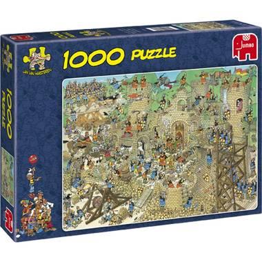 Jumbo Jan van Haasteren puzzel Middeleeuwen 1000 stukjes