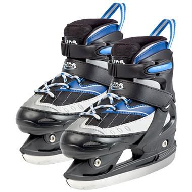 Hockeyschaatsen Zwart Blauw 32-35
