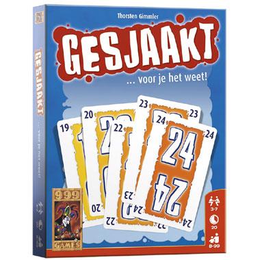 Gesjaakt kaartspel