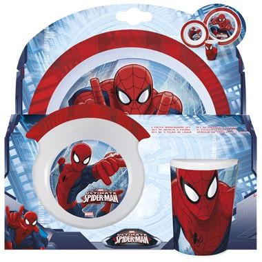 Spider-Man Kinderservies 3-delig