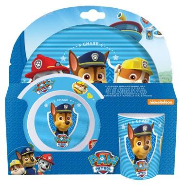 Paw Patrol Kinderservies 3-delig