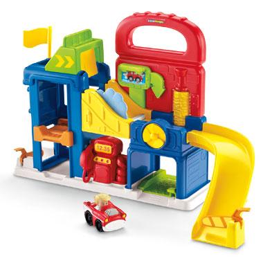 Fisher-Price Little People Wheelies garage