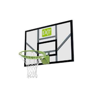 Exit Galaxy basketbalboard met dunkring en net