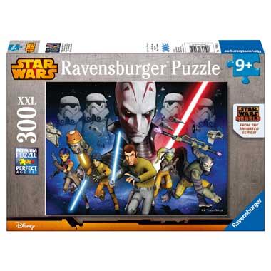 Ravensburger puzzel Star Wars Strijd om het imperium - 300 stukjes