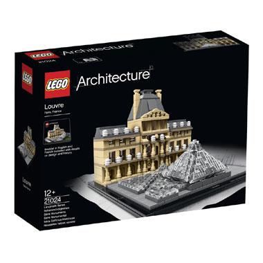 LEGO Architecture het Louvre 21024