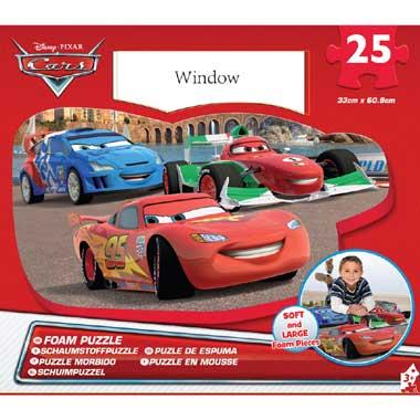 Foam puzzel Disney Cars - 25 stukjes