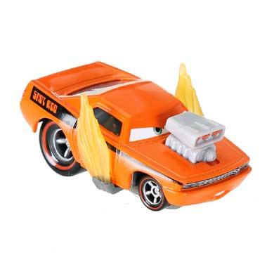 Disney Cars 2 Snot Rod met vlammen raceauto