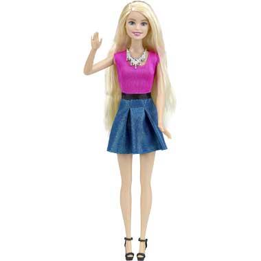 Barbie haartattoo speelset